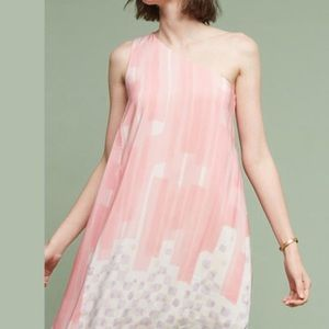 ‼️Anthropologie dress NWT one shoulder style